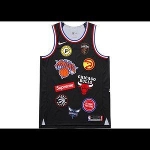 2d155ef270c802 Supreme x NBA x Nike Jersey Size Large